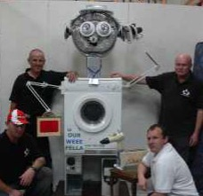 1st Prize at Dorset Show 2008 • WEEE Man makes an impact!