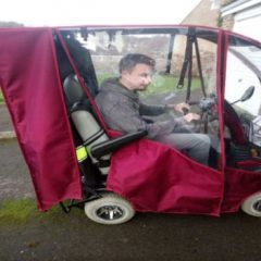 Volunteer Dan's New Transport